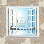 6474117-ventana-abierta-en-el-muro-de-piedra